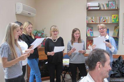 Jesienna wizyta wolontariuszy ze Żmigrodu.